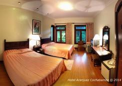 호텔 아란후에즈 코차밤바 - Cochabamba - 침실