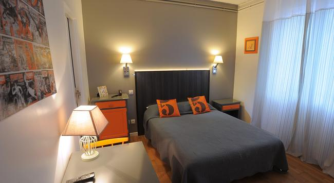 호텔 이탈리아 - 투르 - 침실