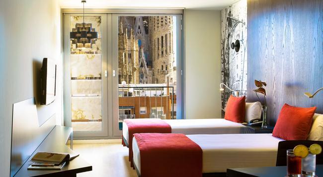 아이레 호텔 로셀론 - 바르셀로나 - 침실