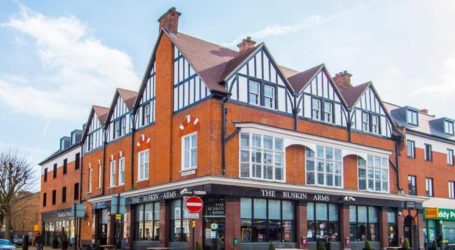 더 러스킨 호텔 - 런던 - 건물