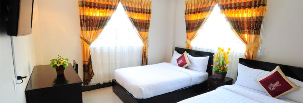 넘버 9 호텔 - 프놈펜 - 침실