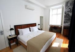 리스보아 프라타 부티크 호텔 - 리스본 - 침실