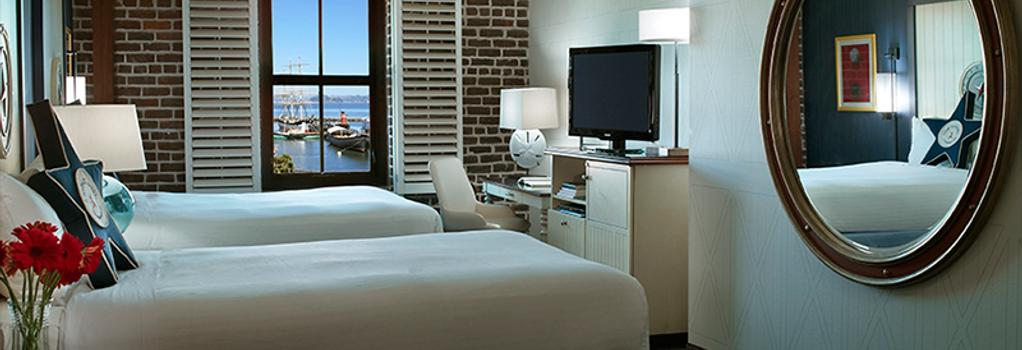 아고넛 호텔, 어 노블 하우스 호텔 - 샌프란시스코 - 침실