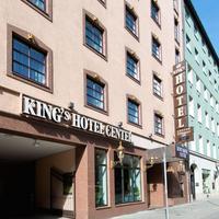 킹's 호텔 센터 Hotel Entrance