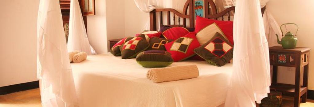 더 스와힐 하우스 - 잔지바르 - 침실