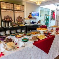 호텔 앤 리아드 아트 플레이스 마라케시 Breakfast Area