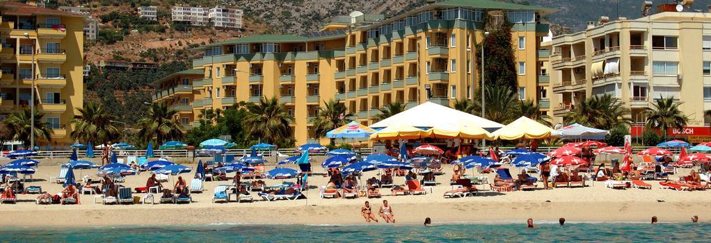 Kleopatra Dreams Beach Hotel - 알라냐 - 건물