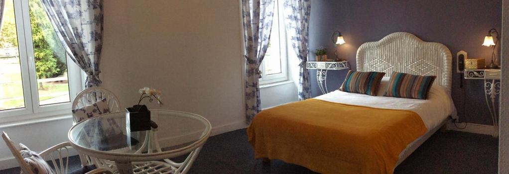 Hotel De La Paix - 리모주 - 침실