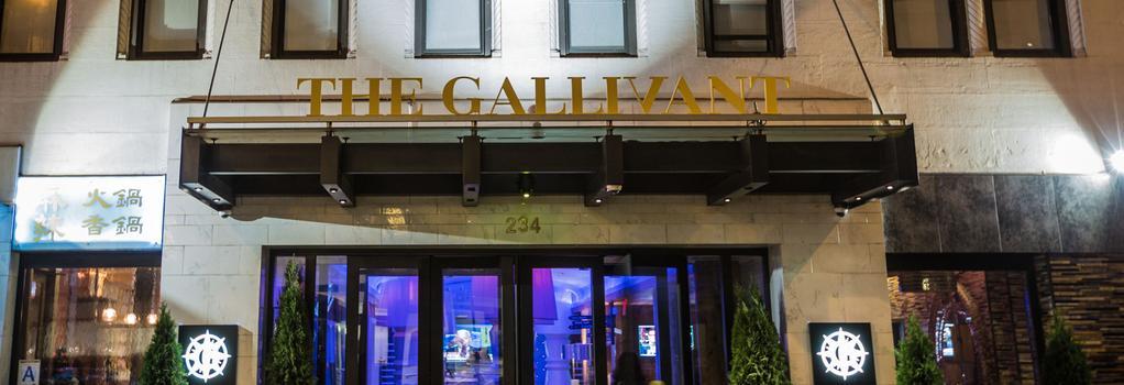 더 갤러번트 타임스 스퀘어 - 뉴욕 - 건물