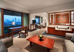더 술탄 호텔 - 자카르타 - 침실