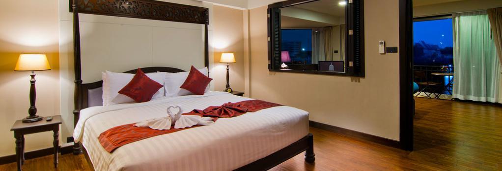 반 왕랑 리버사이드 - 방콕 - 침실