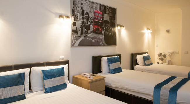 웨스트포인트 호텔 - 런던 - 침실