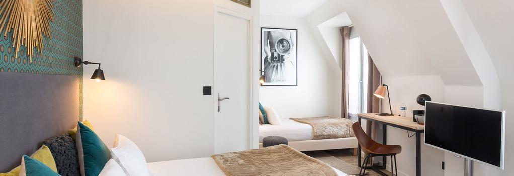 베스트 웨스턴 호텔 옴 바이 해피 컬처 - 파리 - 침실