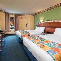 Disney's All-Star Movies Resort Guestroom