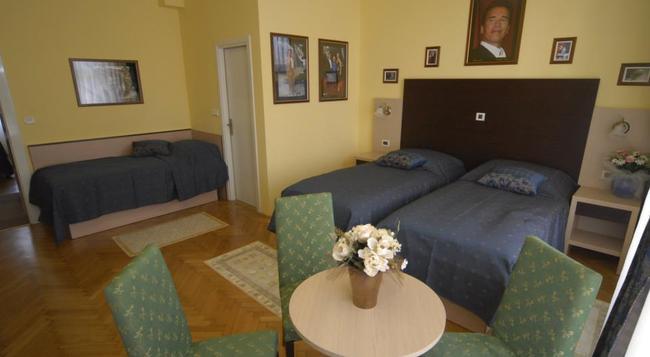더 무비 호텔 자그레브 - 자그레브 - 침실