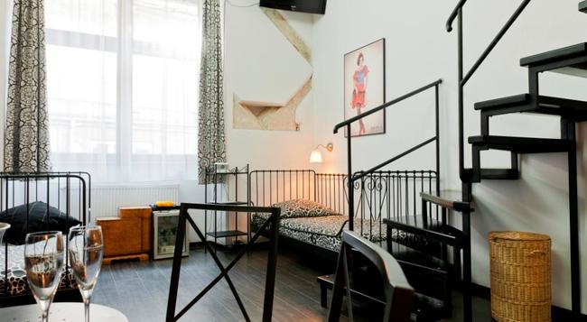 Pergamin Apartments - 크라쿠프 - 침실