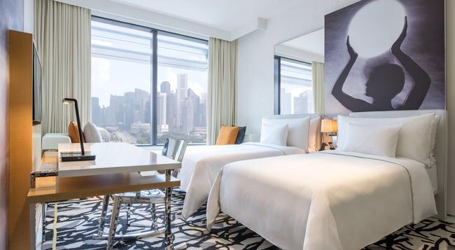 JW 메리어트 호텔 싱가포르 사우스 비치 - 싱가포르 - 침실