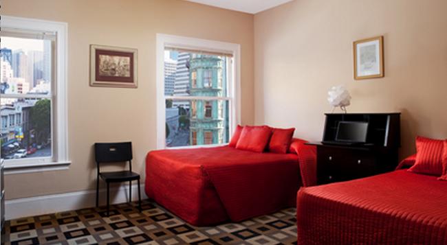 호텔 노스 비치 - 샌프란시스코 - 침실