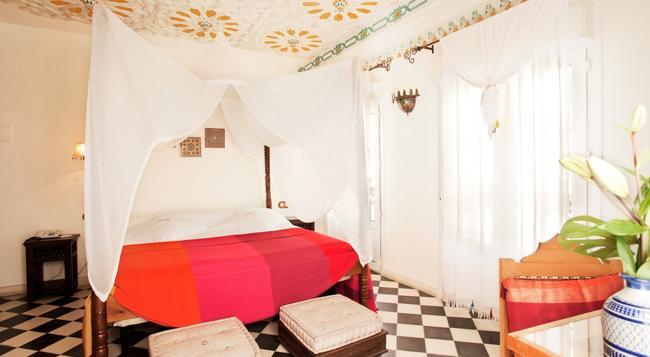 알코바 델 레이 드 세빌라 호텔 세빌랴 - 세비야 - 침실