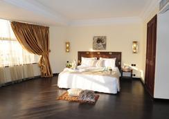 Le Zenith Hotel - 카사블랑카 - 침실