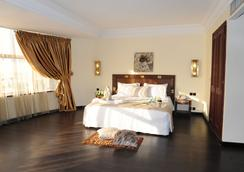 Le Zenith Hotel & Spa - 카사블랑카 - 침실