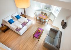 Emaus Apartments - 크라쿠프 - 침실