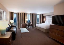 호텔 르 캔틀리 스위트 - 몬트리올 - 침실
