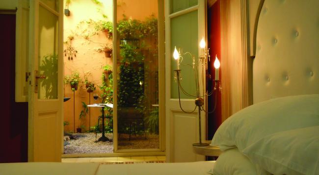 1555 Malabia House Hotel - 부에노스아이레스 - 침실