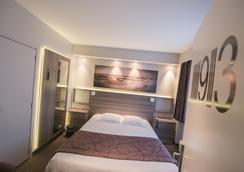 Hotel Burlington - 오스텐드 - 침실