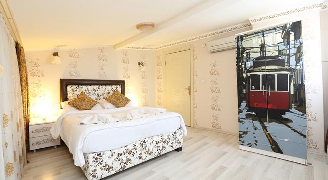 Aygunes Hotel - 이스탄불 - 침실