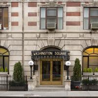 워싱턴 스퀘어 Hotel Entrance