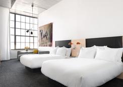 21c Museum Hotel Oklahoma City - 오클라호마시티 - 침실