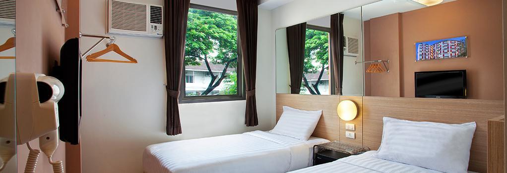 Red Planet Pattaya - 파타야 - 침실