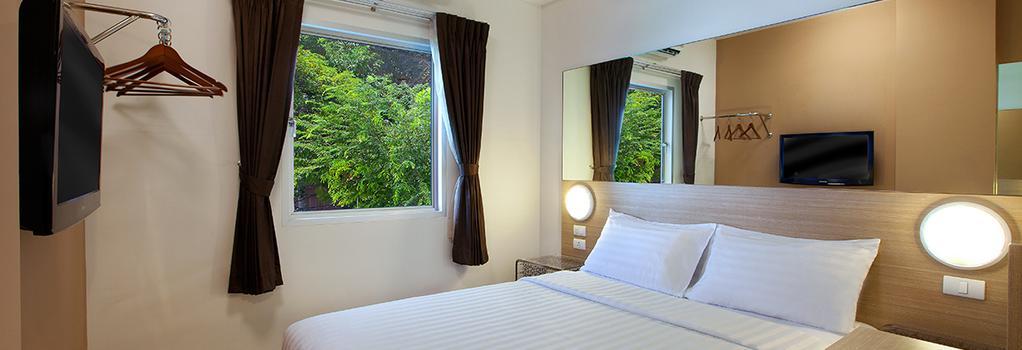 Red Planet Patong, Phuket - 빠통 - 침실