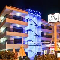 Hotel Boutique Rh Portocristo Fachda iluminada