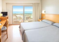 Hotel Rh Gijón - Gandia - 침실