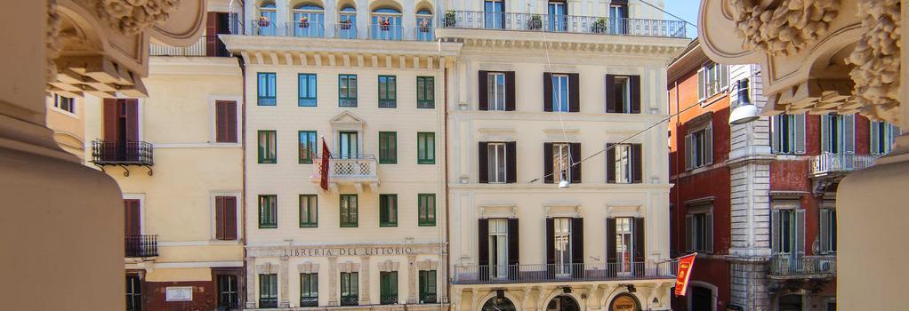 호텔 레그노 - 로마 - 건물