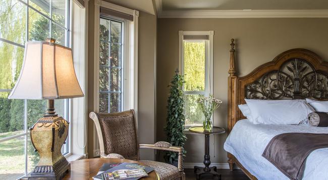 E'Laysa Guesthouse and Vineyard Retreat - 펜틱턴 - 침실