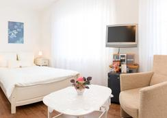 Hotel zum Kuhhirten - 브레멘 - 침실