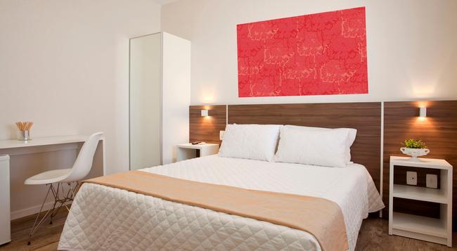 Hotel Geranius Praia dos Ingleses - 플로리아노폴리스 - 침실