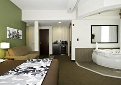 Sleep Inn & Suites Downtown Inner Harbor - 볼티모어 - 침실
