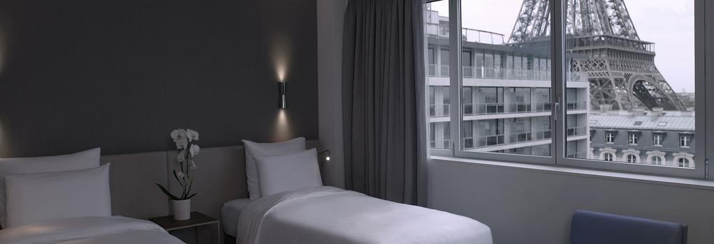 풀맨 파리 투르 에펠 호텔 - 파리 - 침실