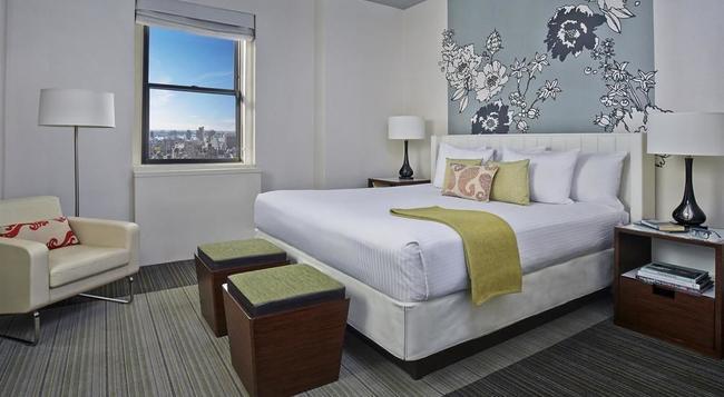 스튜어트 호텔 - 뉴욕 - 침실
