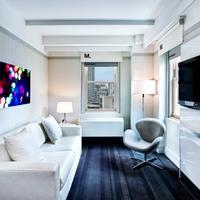 로 NYC 앳 타임스퀘어 Executive Suite Living Room