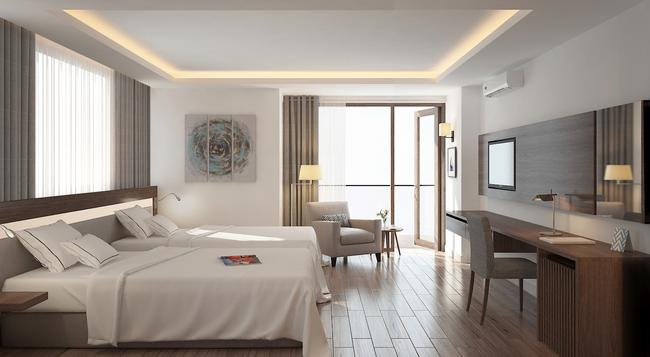 아로마 나트랑 부티크 호텔 - 냐짱 - 침실