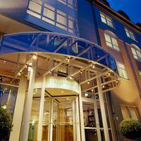 작센파크 호텔 Eingang