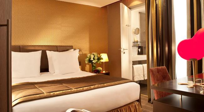 호텔 엘리제 메르모즈 - 파리 - 침실