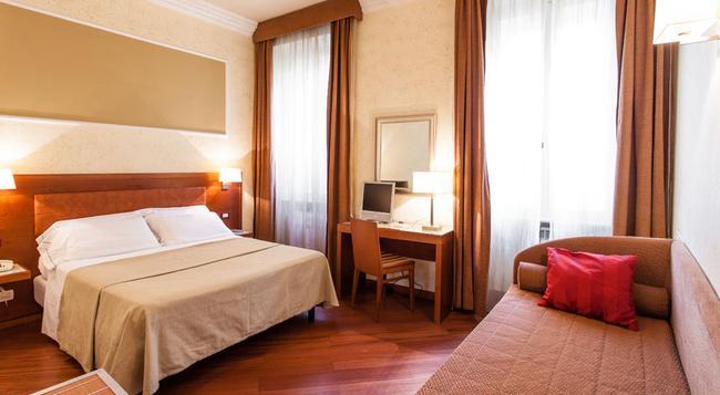 호텔 마드리드 - 로마 - 침실