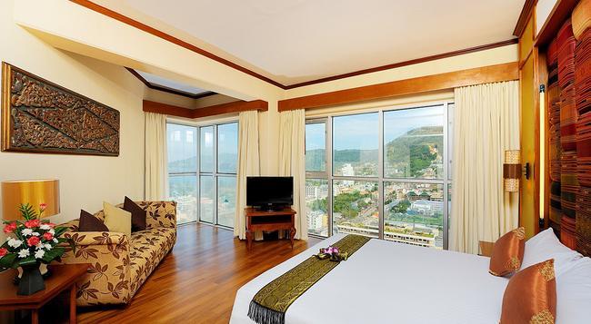 더 로얄 파라다이스 호텔 앤 스파 - 빠통 - 침실