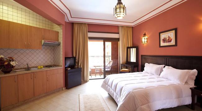 모가도르 멘자 아파트 호텔 - 마라케시 - 침실